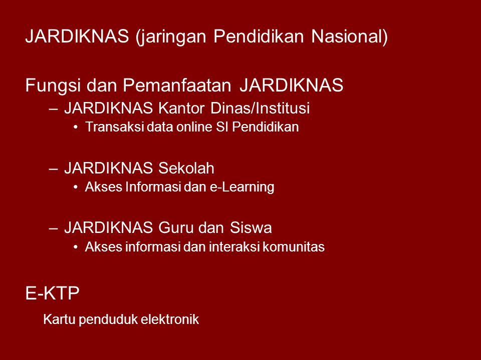 JARDIKNAS (jaringan Pendidikan Nasional)