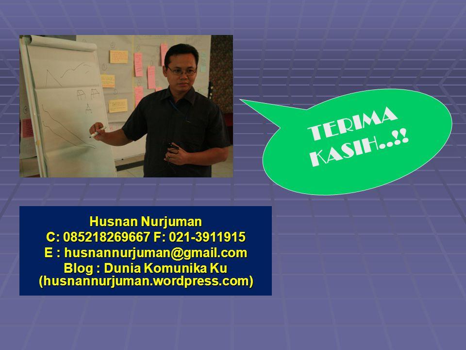 TERIMA KASIH..!! Husnan Nurjuman Husnan Nurjuman