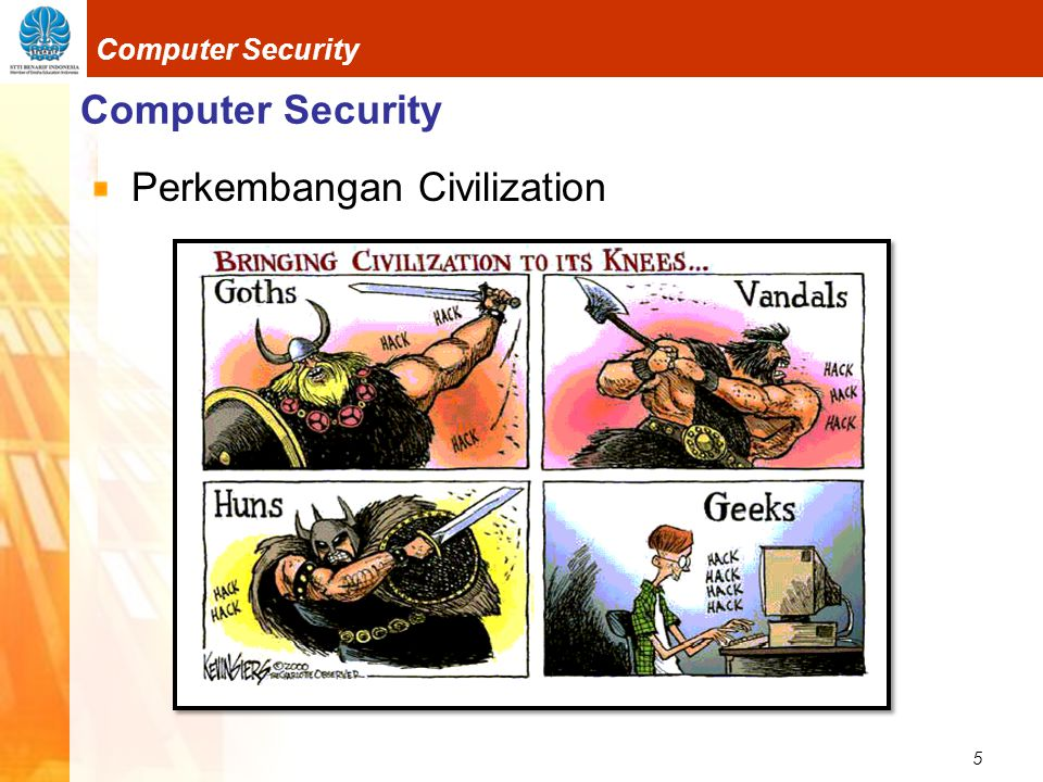 Computer Security Perkembangan Civilization