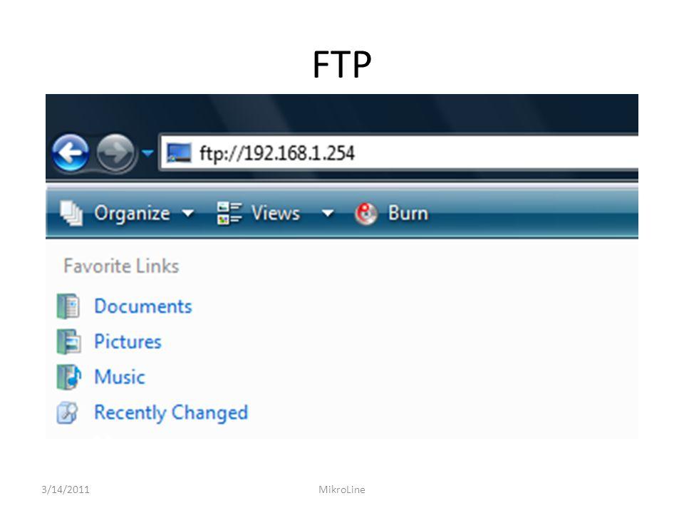 FTP 3/14/2011 MikroLine