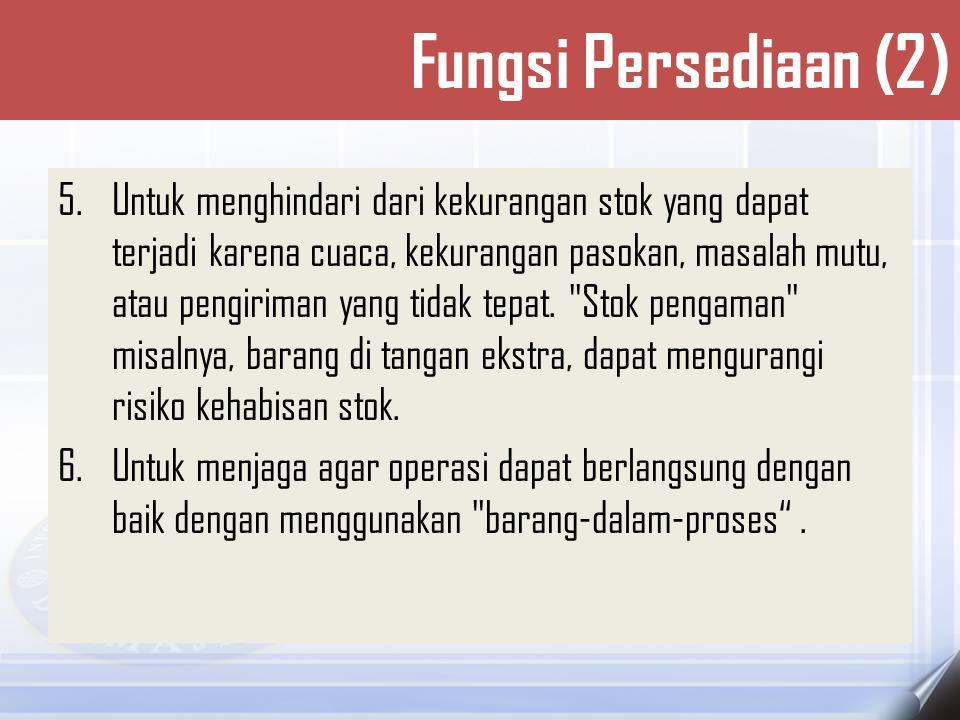 Fungsi Persediaan (2)