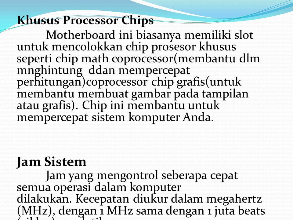Khusus Processor Chips