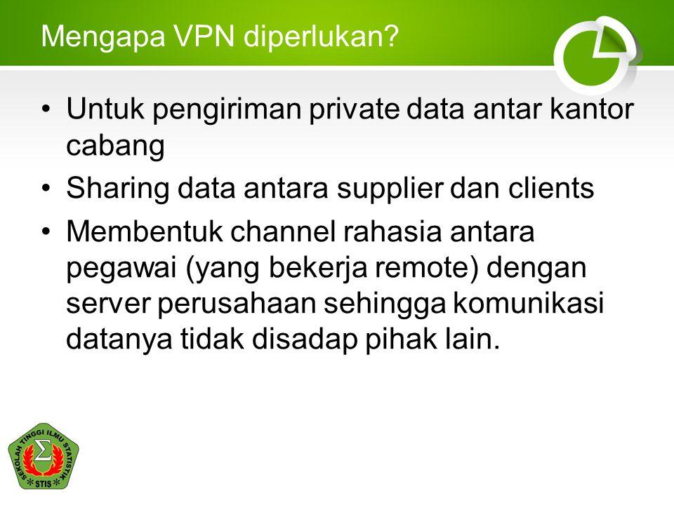 Mengapa VPN diperlukan