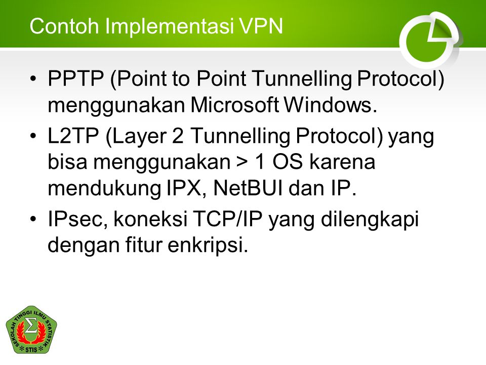 Contoh Implementasi VPN