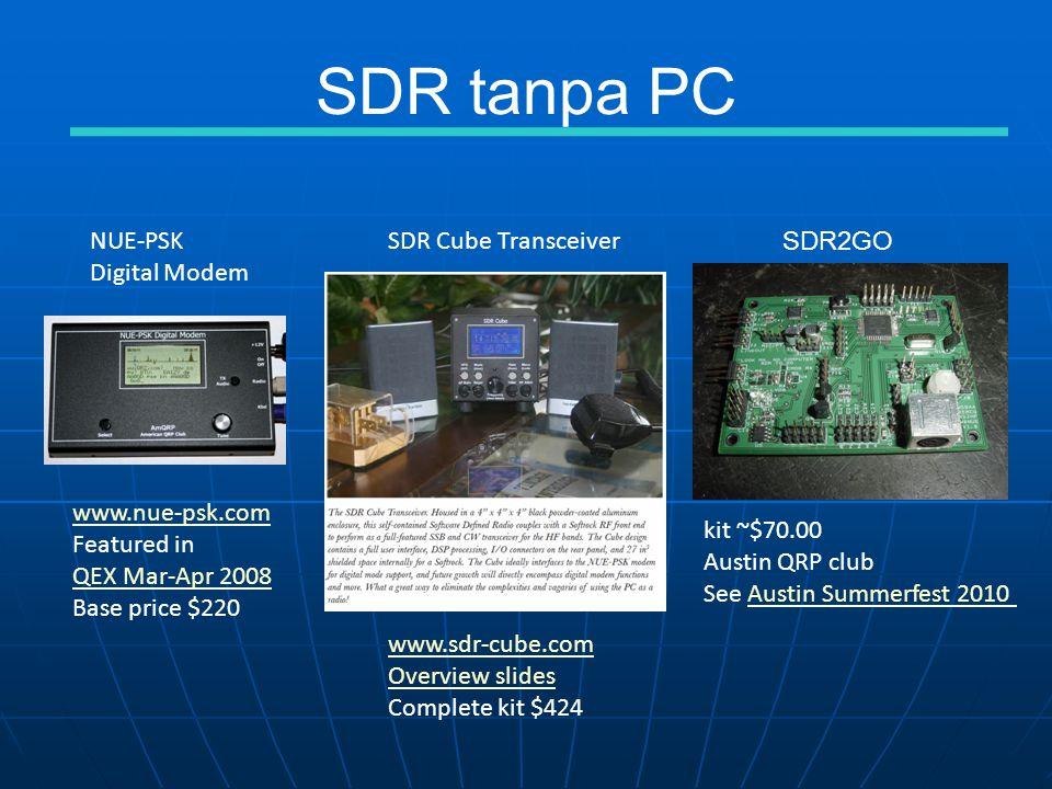 SDR tanpa PC NUE-PSK Digital Modem SDR Cube Transceiver SDR2GO