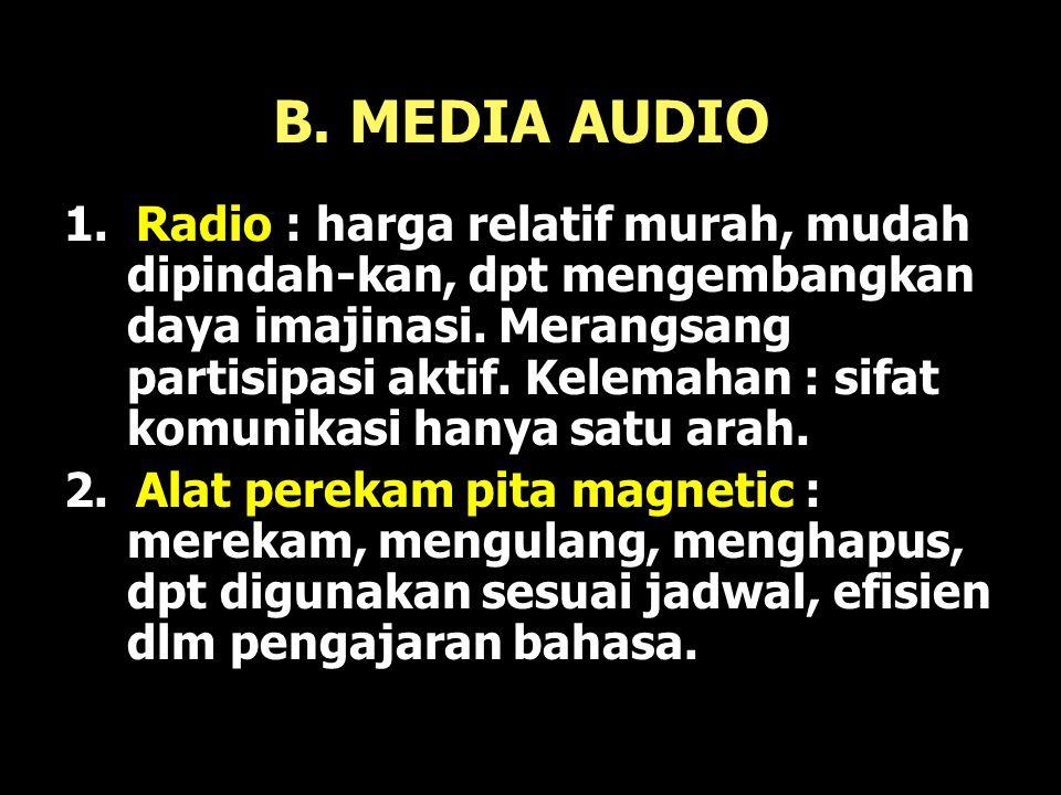 B. MEDIA AUDIO