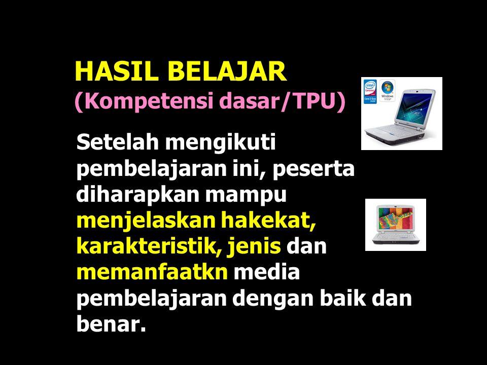 HASIL BELAJAR (Kompetensi dasar/TPU)