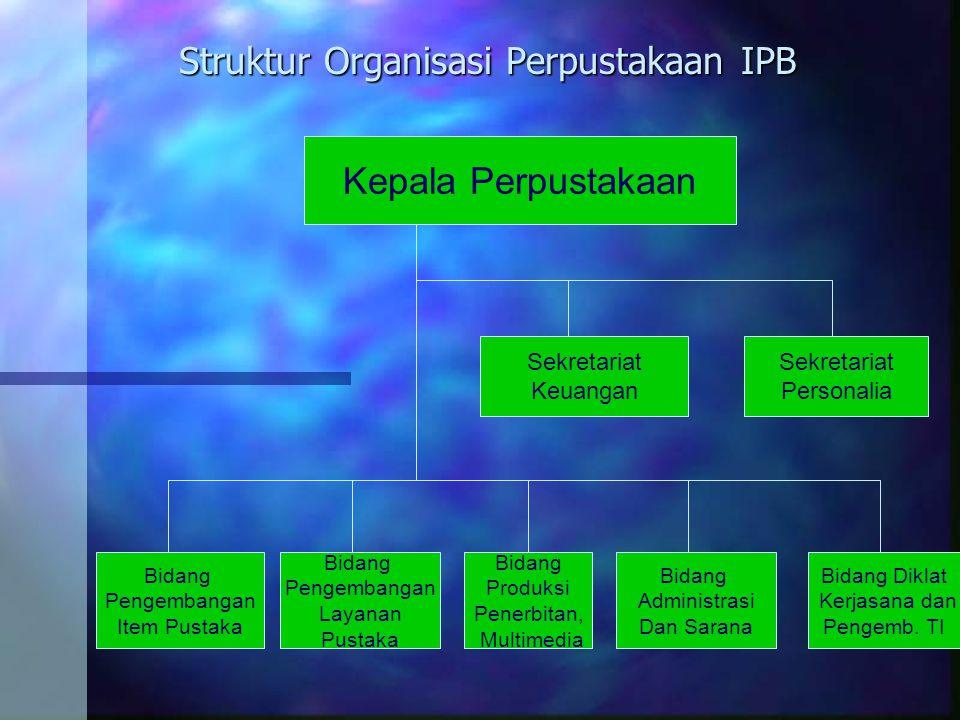 Di Perpustakaan Institut Pertanian Bogor