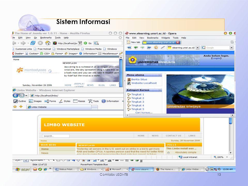 Sistem Informasi Comlabs USDI-ITB