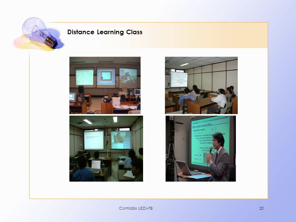 Distance Learning Class