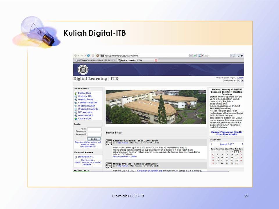 Kuliah Digital-ITB Comlabs USDI-ITB