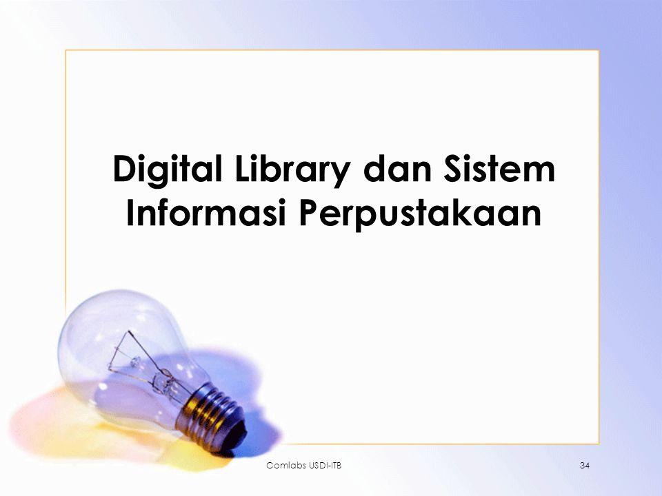 Digital Library dan Sistem Informasi Perpustakaan