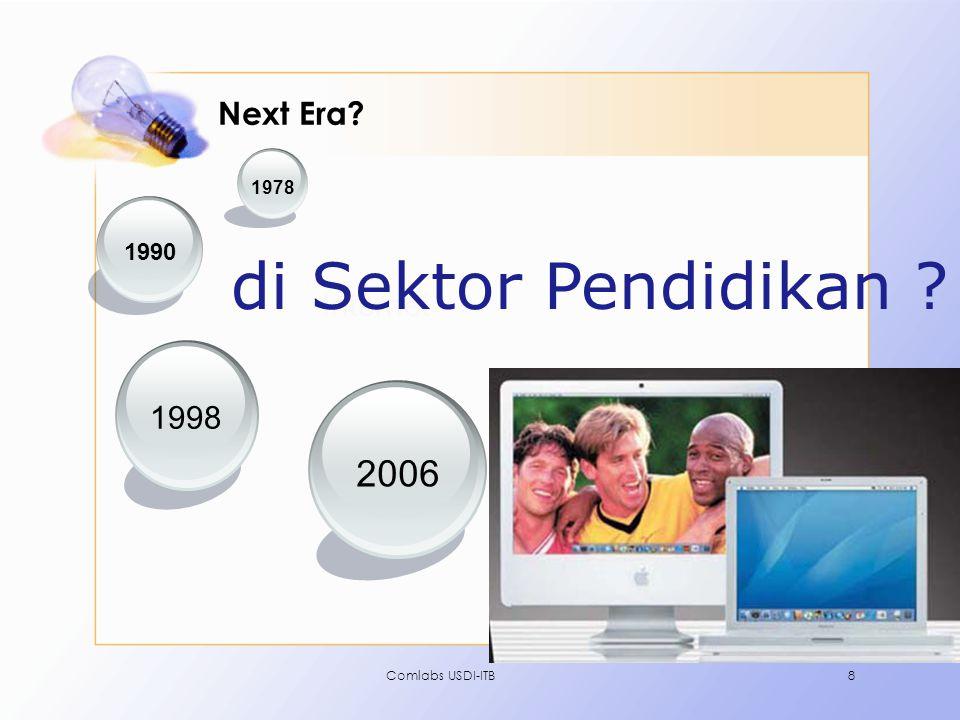 di Sektor Pendidikan 2006 Next Era Internet 1998 1990 1978