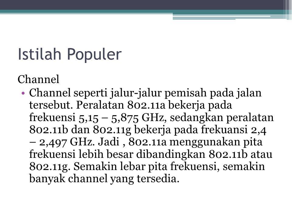 Istilah Populer Channel