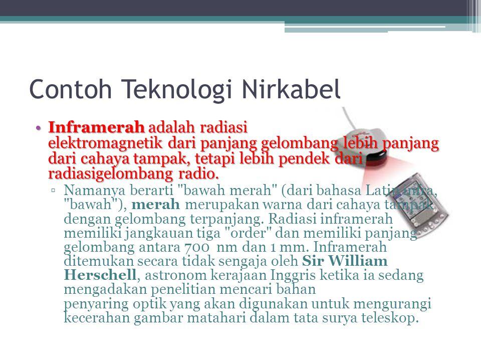Contoh Teknologi Nirkabel