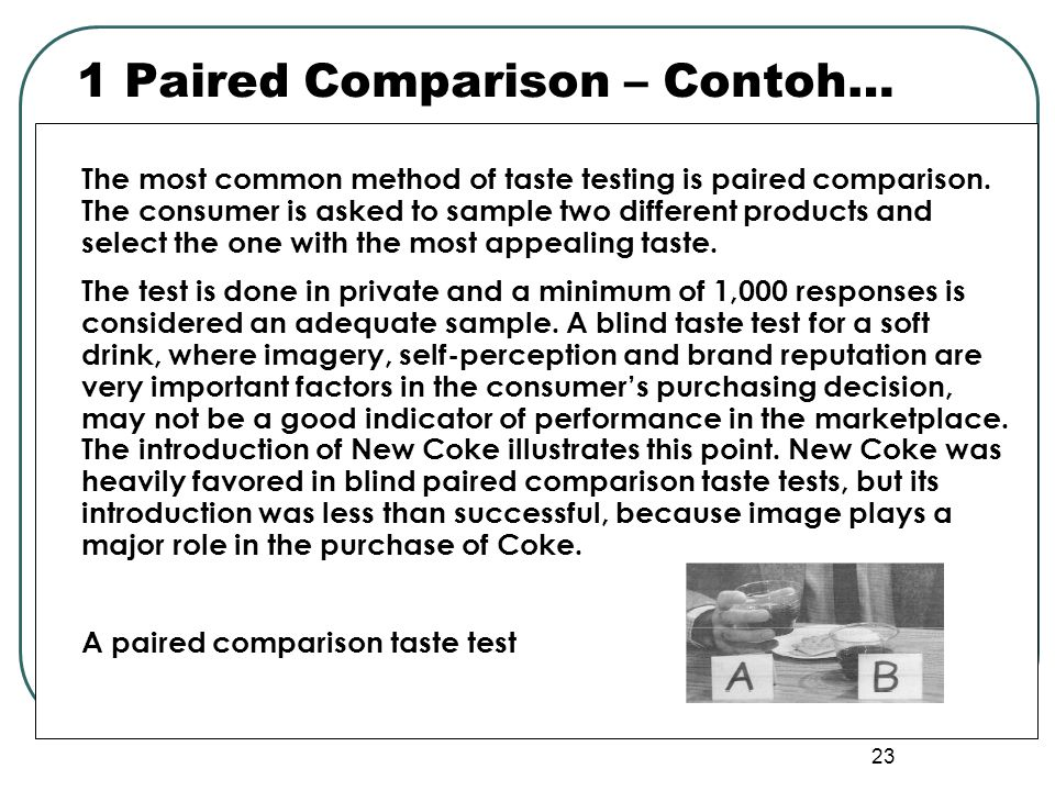 1 Paired Comparison – Contoh…