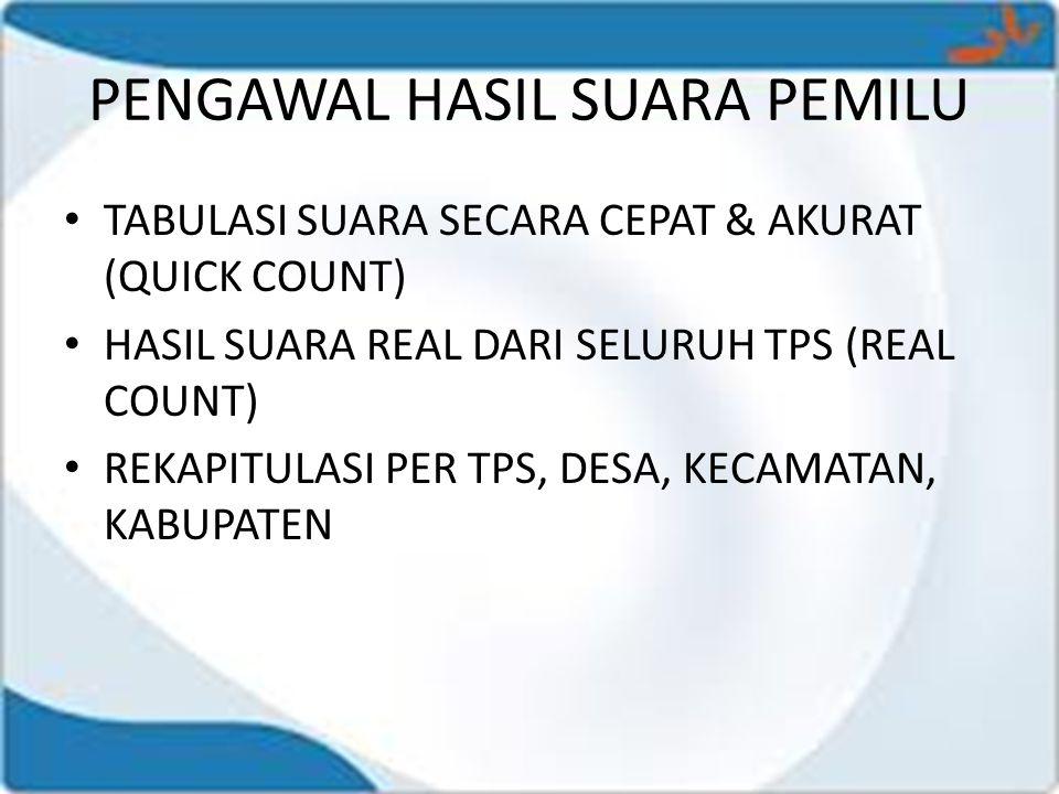 PENGAWAL HASIL SUARA PEMILU