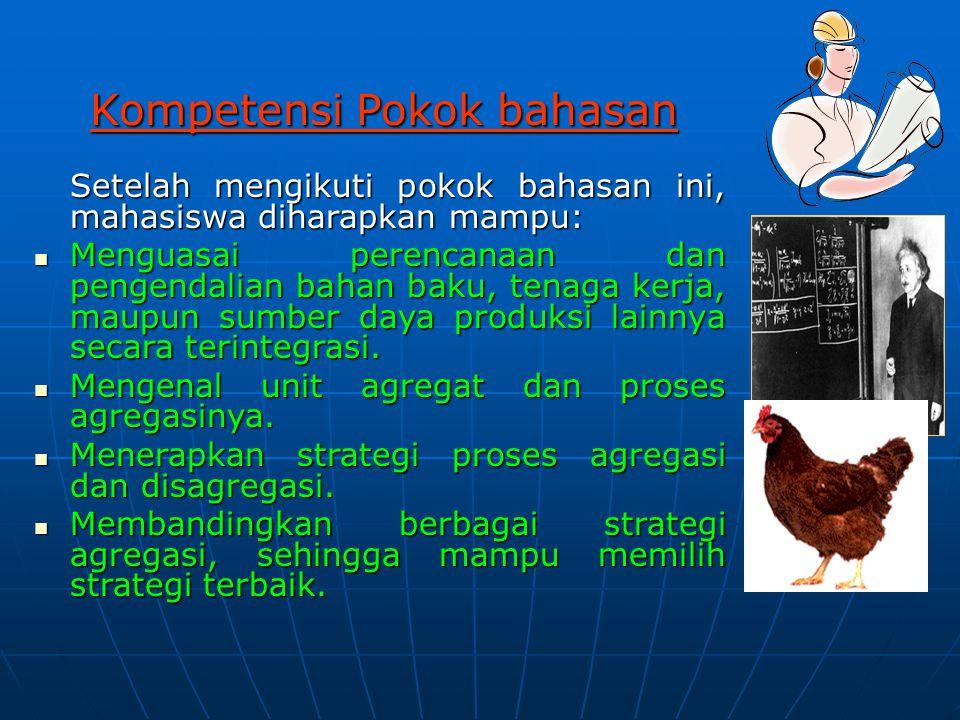 Kompetensi Pokok bahasan