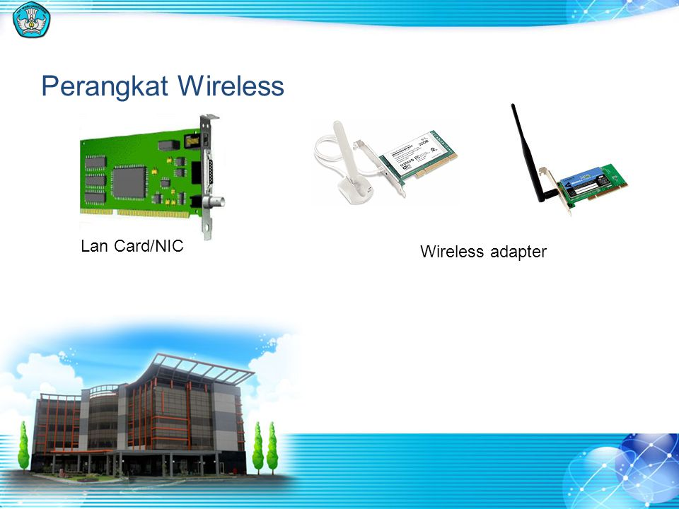 Perangkat Wireless Lan Card/NIC Wireless adapter
