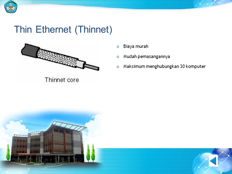 Thin Ethernet (Thinnet)
