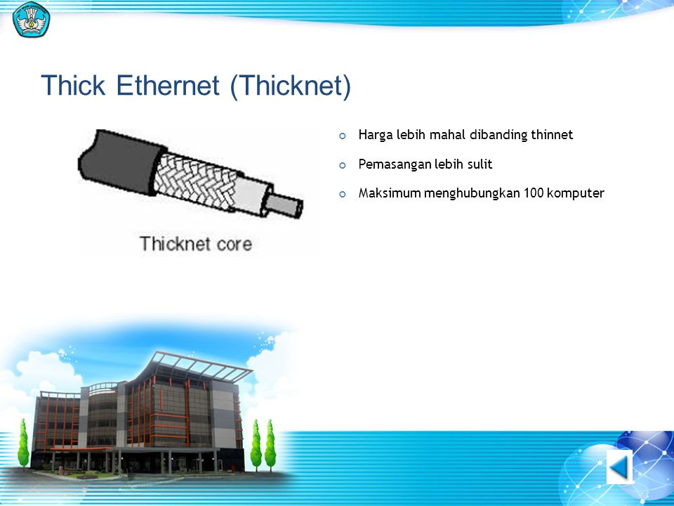 Thick Ethernet (Thicknet)