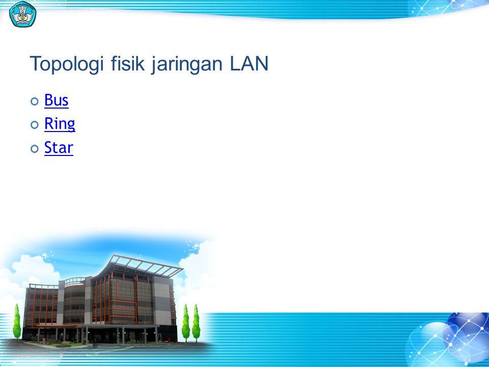 Topologi fisik jaringan LAN