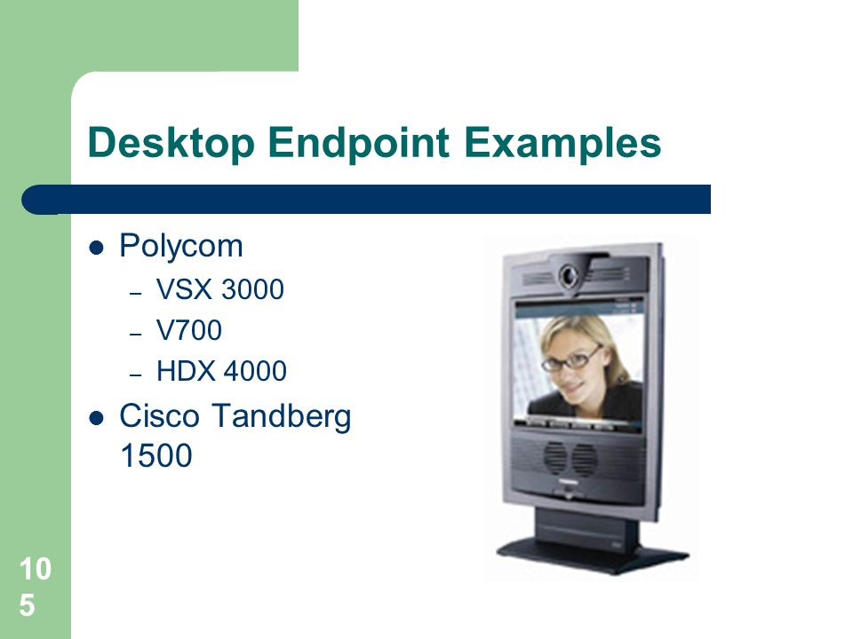 Desktop Endpoint Examples