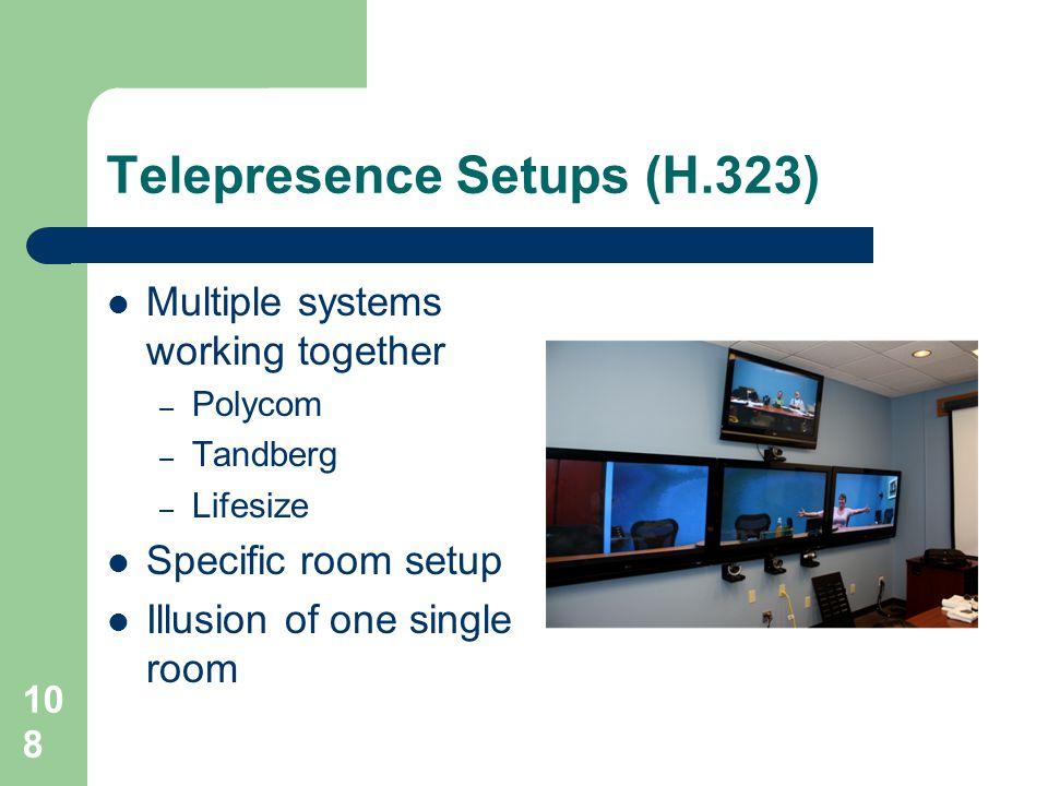 Telepresence Setups (H.323)