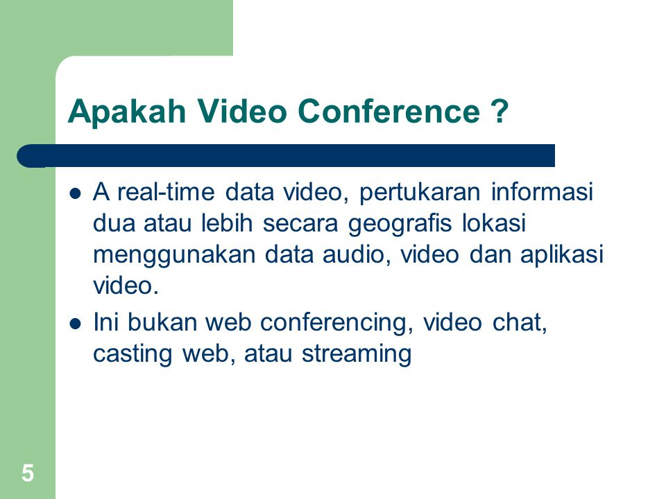 Apakah Video Conference