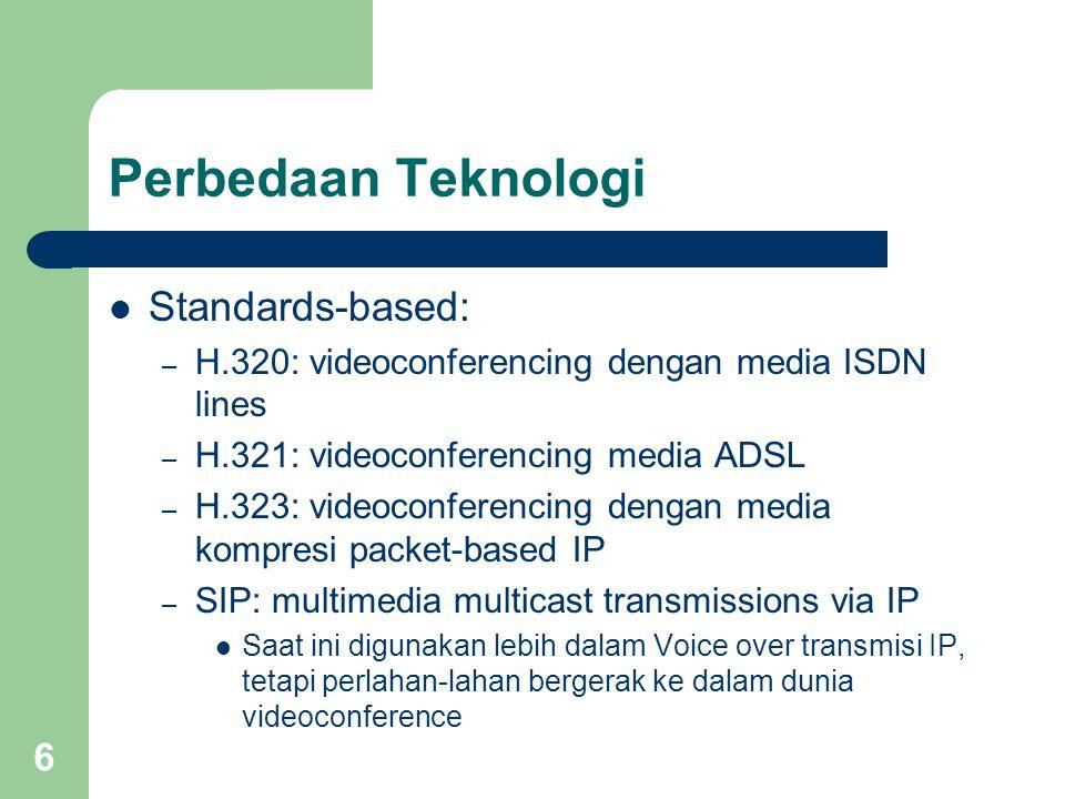 Perbedaan Teknologi Standards-based: