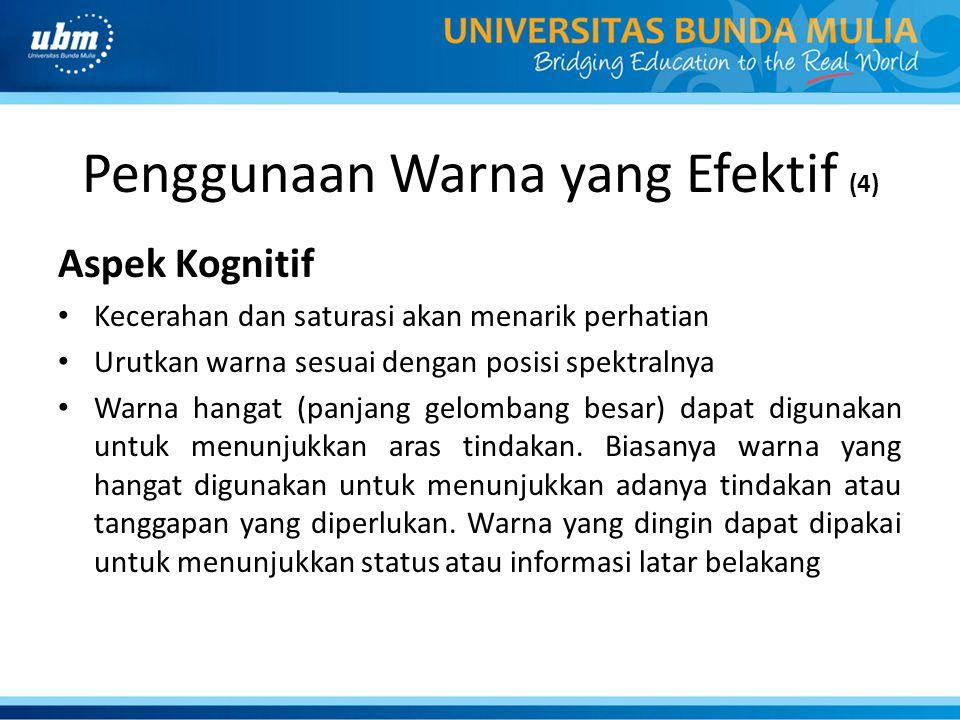 Penggunaan Warna yang Efektif (4)