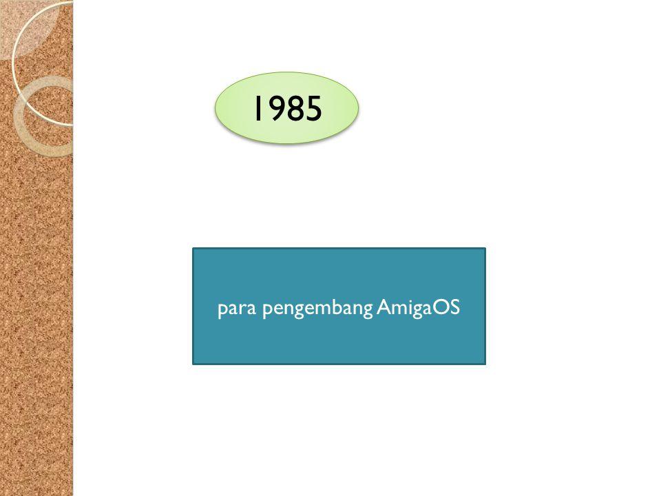 para pengembang AmigaOS
