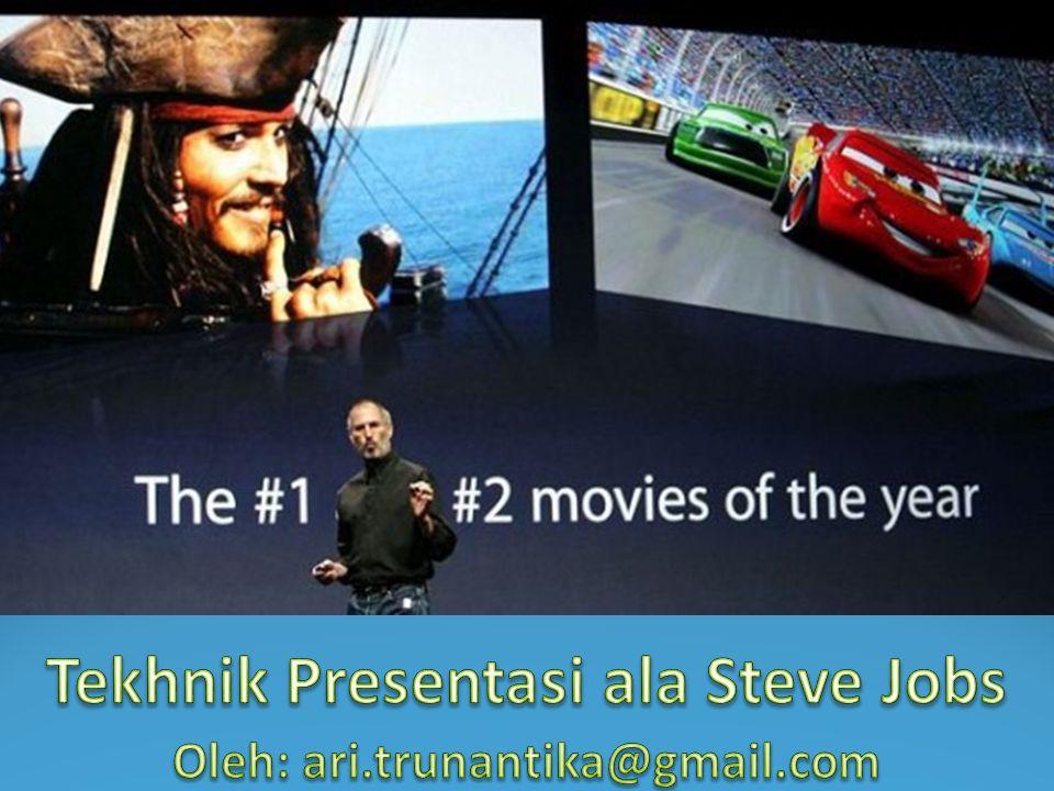 Tekhnik Presentasi ala Steve Jobs