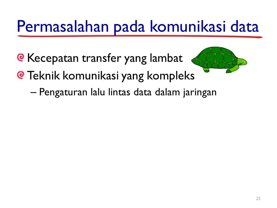 Permasalahan pada komunikasi data