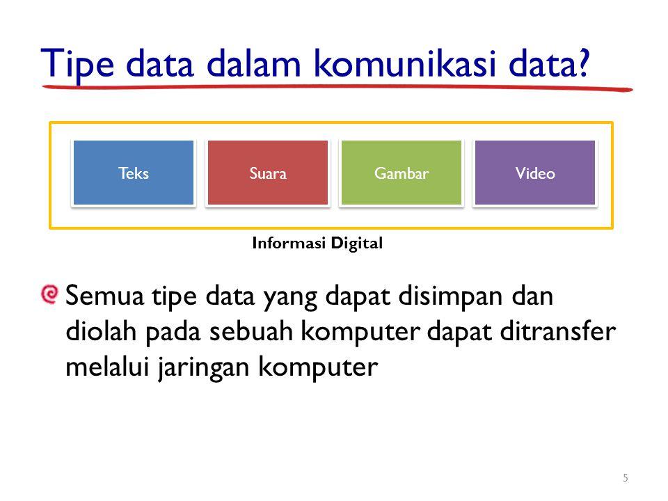 Tipe data dalam komunikasi data