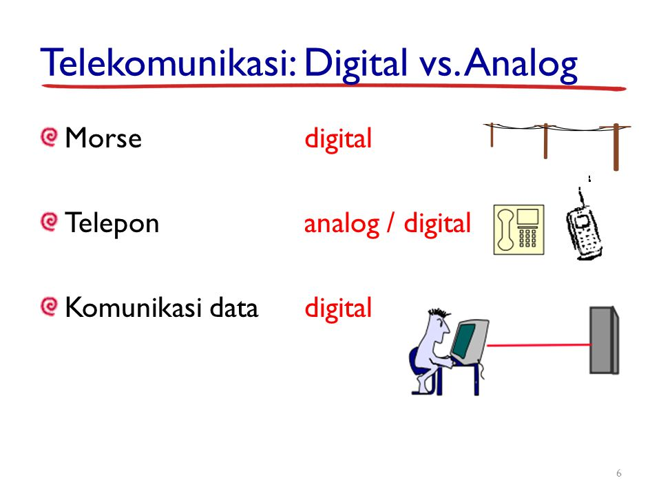 Telekomunikasi: Digital vs. Analog