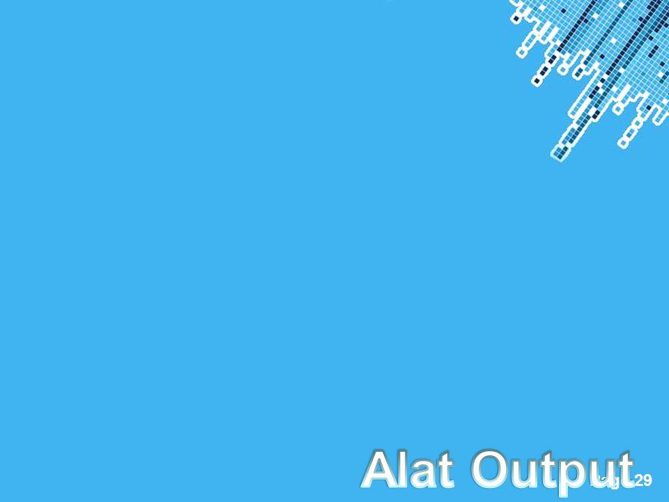 Alat Output