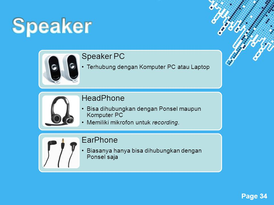 Speaker Speaker PC Terhubung dengan Komputer PC atau Laptop HeadPhone
