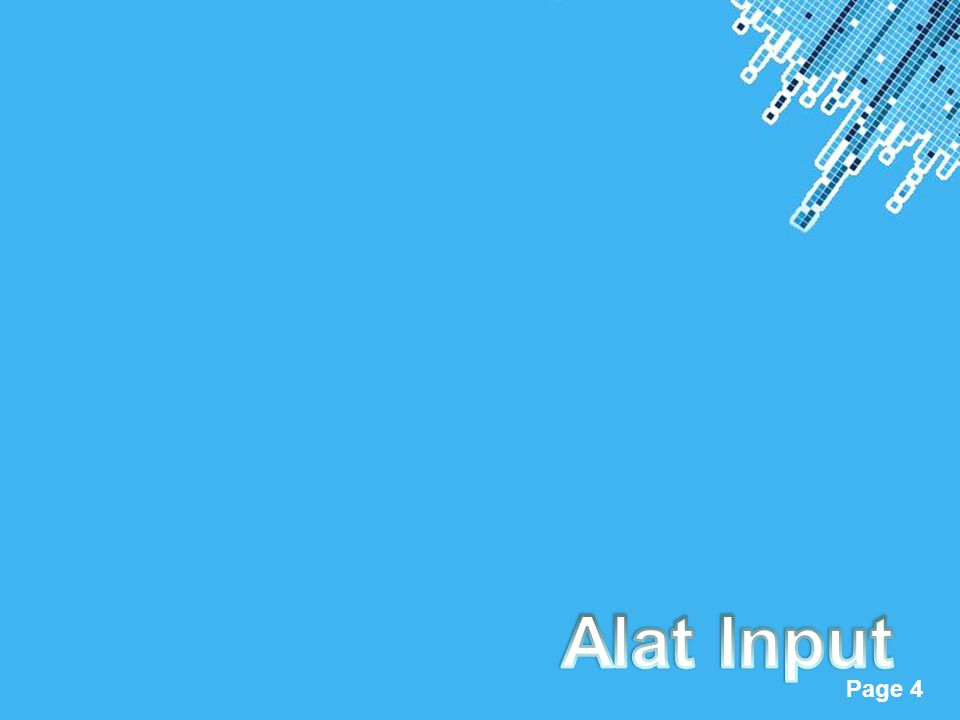 Alat Input