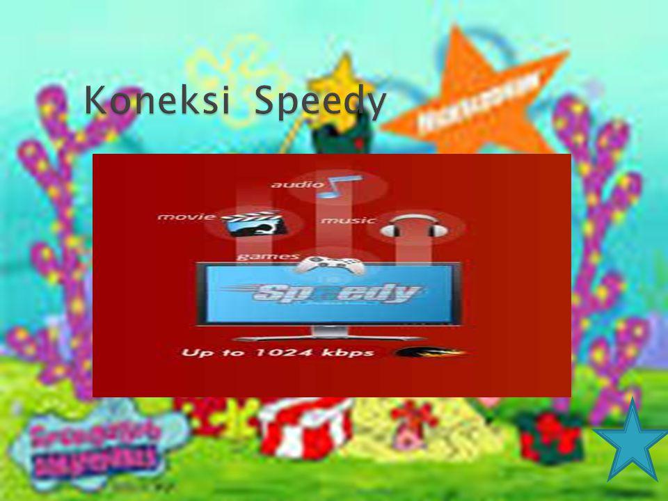 Koneksi Speedy