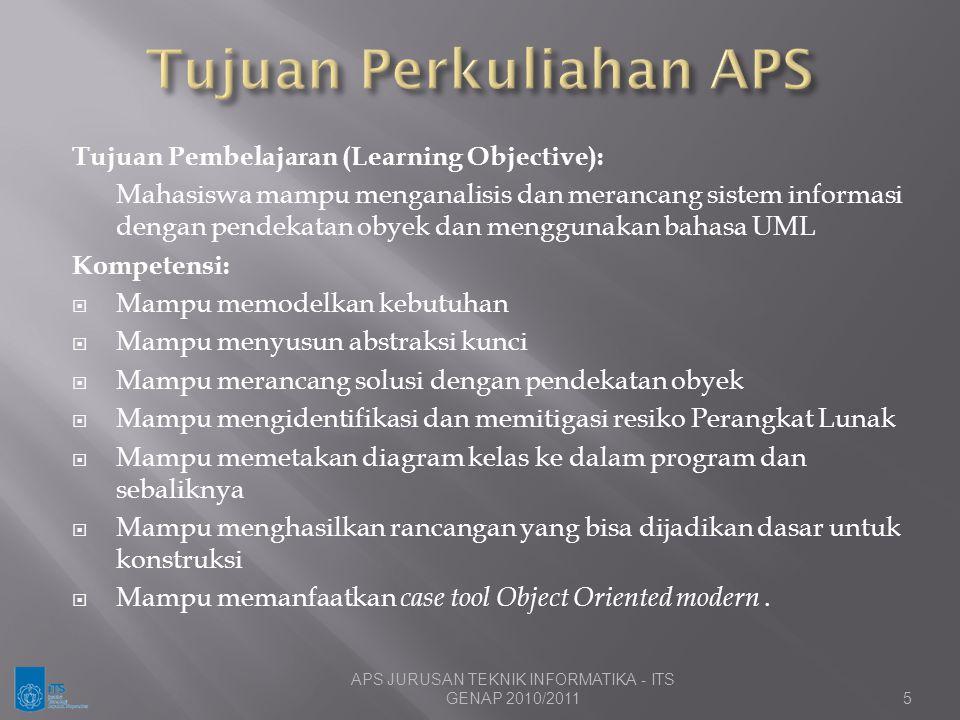 Tujuan Perkuliahan APS