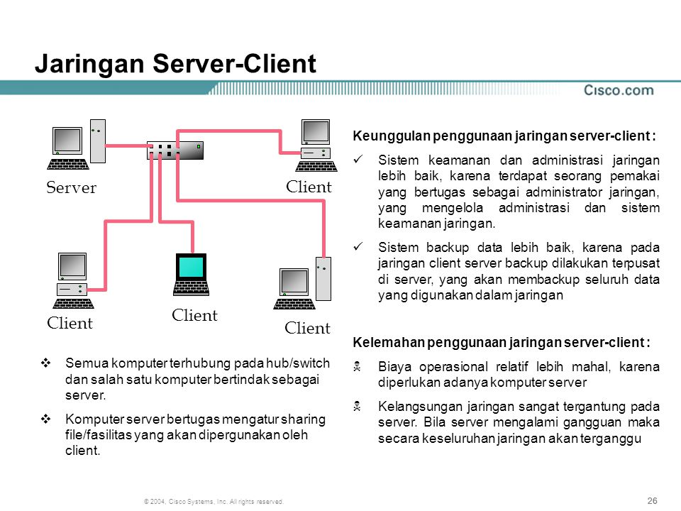 Jaringan Server-Client