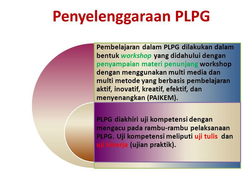 Penyelenggaraan PLPG