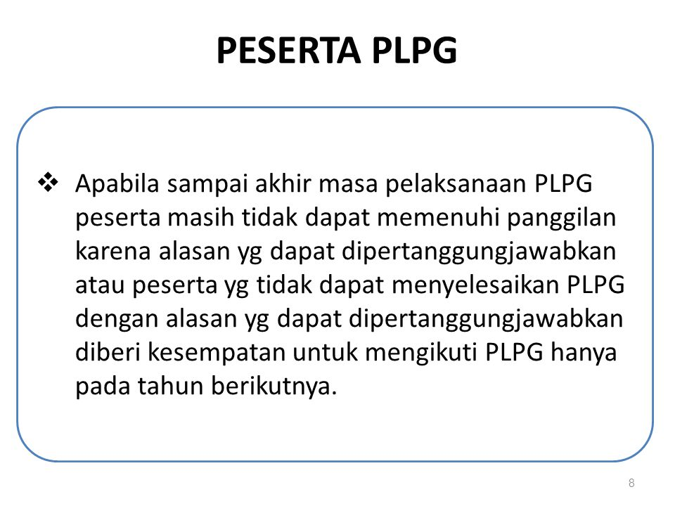 PESERTA PLPG