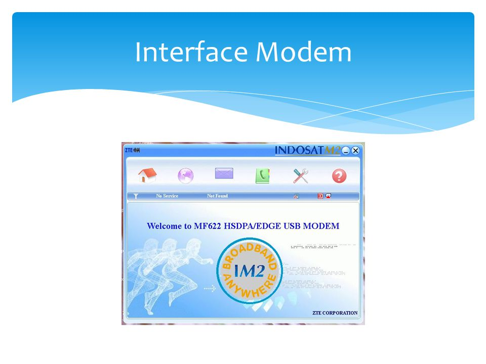 Interface Modem