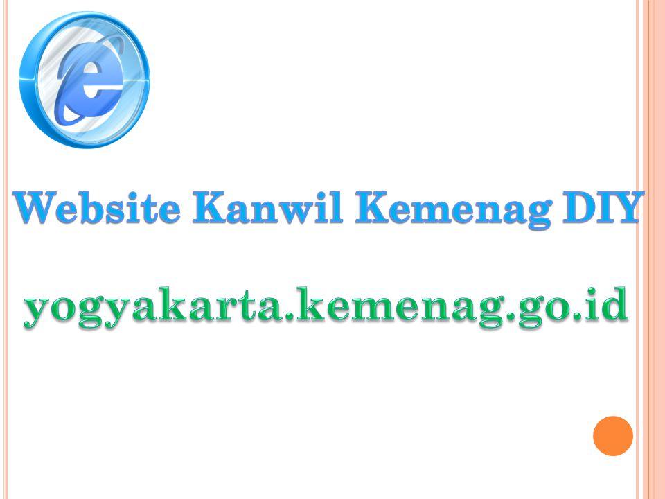 Website Kanwil Kemenag DIY