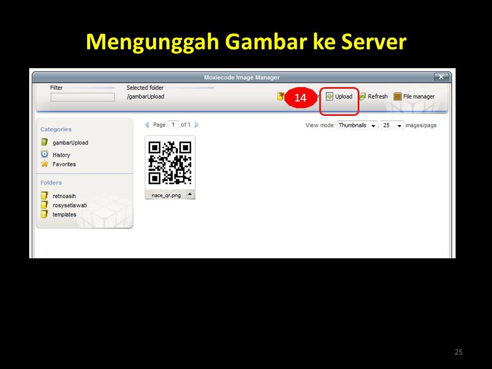 Mengunggah Gambar ke Server