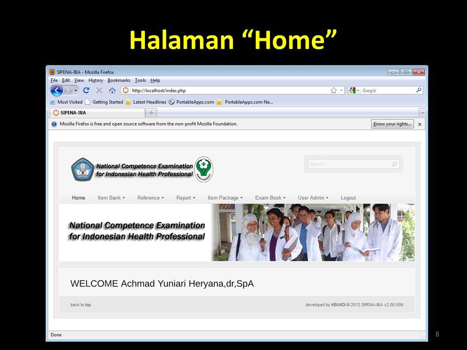 Halaman Home