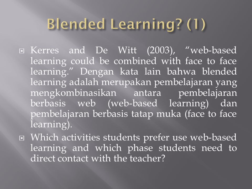 Blended Learning (1)