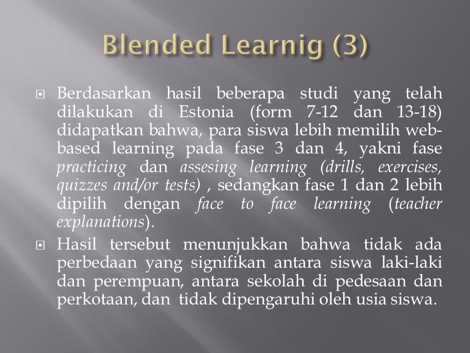 Blended Learnig (3)
